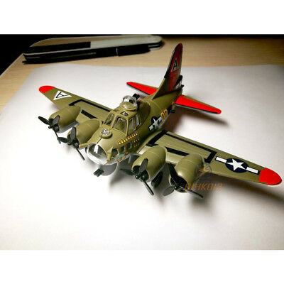 - MENG PLANE-001 B-17G FLYING FORTRESS BOMBER Model Toy Kit Aircraft [Q Version]