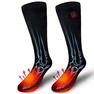 Rechargeable 3-speed heating Warm Heated Socks for Chronically Cold Feet Foot