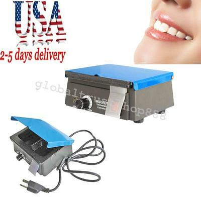 Mini Dental Analog Wax Melting Dipping Pot Heater Melter Waxer 3well 150 Usps