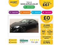 BLACK Toyota GT86 D4-S SPORTS FROM £67 PER WEEK !