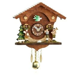 Kuckulino Black Forest Clock with quartz movement and cuckoo ch.. TU 2045 PQ NEW