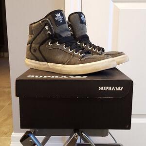Supras/Supra Vaider shoes men size 9