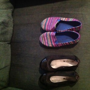 Size 10.5 girls shoes