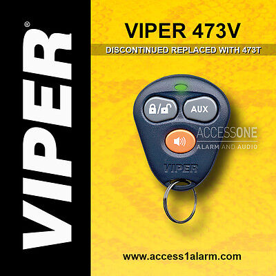 Viper 473V 3-Button Replacement Remote Control Transmitter Directed DEI 473T