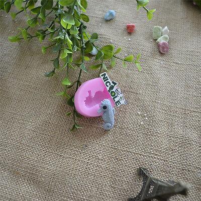 Nicole Sea Horses Sea Theme Silicone Fondant Cake Decorating Tools Resin,Clay  - Horse Themed Cakes