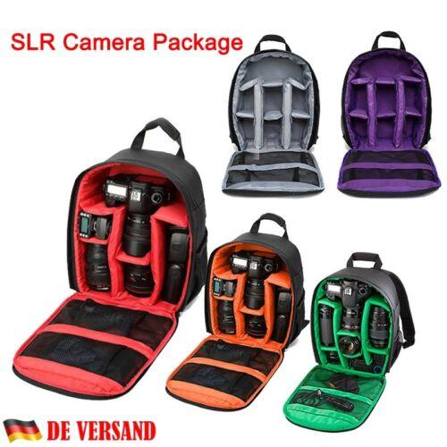Kamerarucksack Fotorucksack Fototasche Wasserdicht für Canon Nikon Sony SLR DSLR