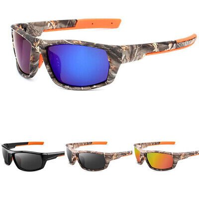 Polarized Camouflage Sport Sunglasses Fishing Golf Driving Cycling Eye (Sunglasses Disguise)
