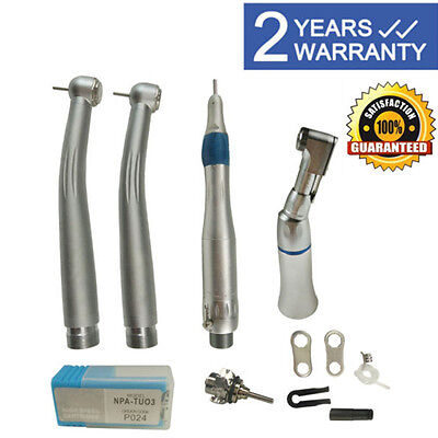 Nsk Type Dental Pana Max Highlow Speed Handpiece Kit Push Button 2hole W Case