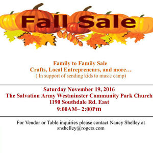Fall and Christmas, Vendor , Craft and Resale London Ontario image 1