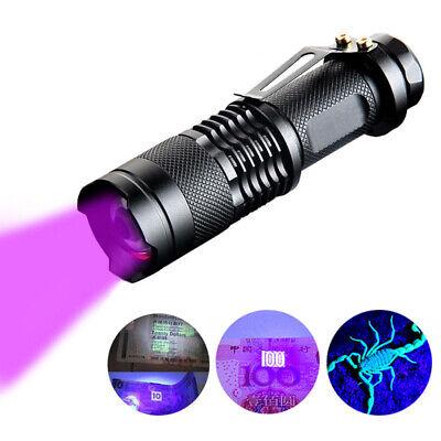 395nm 5W LED High Powered UV Lamp Black Light Ultra Violet Flashlight