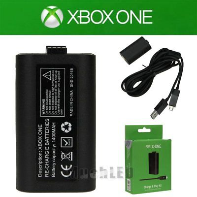 For Official Microsoft XBOX ONE Play and Charge Kit Xbox...
