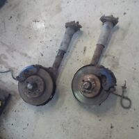 complete front brake upgrade for 79-85 mustang