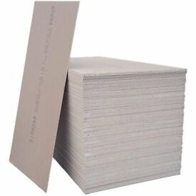 1 large sheet of plasterboard 2,40m x 1,20m - offers