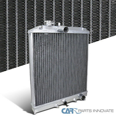Fit Honda 92-95 Civic 93-97 del Sol Si Manual MT Racing Aluminum 2 Row Radiator