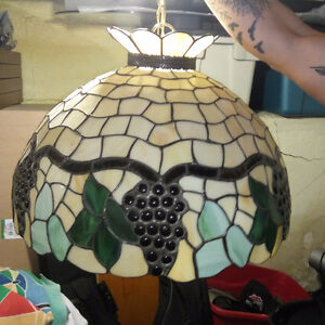 Tiffany Stained Glass Dining Chandelier