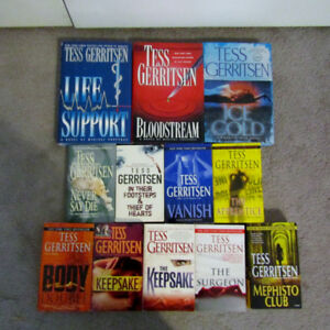 Tess Gerritsen Mystery Books - price is for all