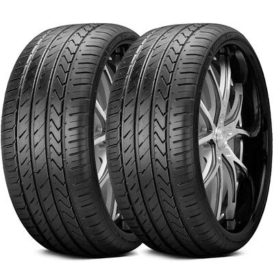 2 New Lexani LX TWENTY 25530ZR22 95W XL All Season High Performance Tires