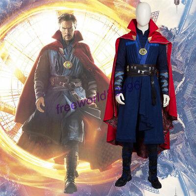 Exclusive Doctor Strange Stephen Strange Cosplay Costume Halloween Fancy Dress