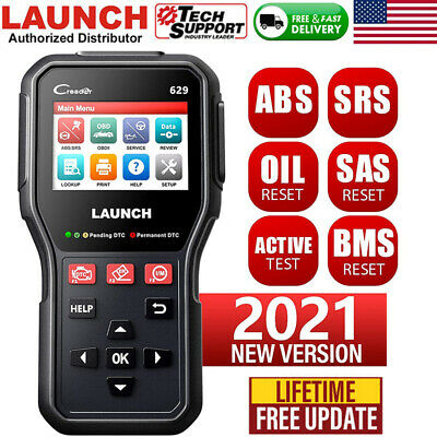 LAUNCH ABS SRS Airbag Diagnostic Tool Car Full Engine OBD2 Scanner Code Reader