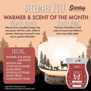 Scentsy!  Order by December 11th to arrive for Christmas!