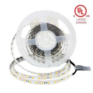 Premium Quality LED Tape Light / Flexible Strip 12v 24v White/RGB/RGBW UL/ULc Listed 5 Years Warranty