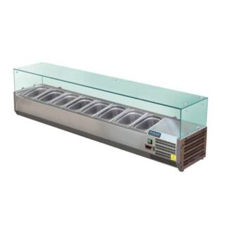 Refrigerated Servery Topper Food Display Restaurant Buffet Stainl Melbourne CBD Melbourne City Preview