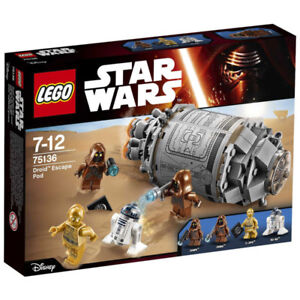 Lego Star Wars 75136 droid escape new and sealed