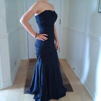 Robe de bal noir/Black prom dress