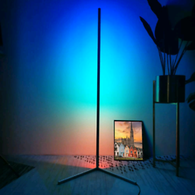 LED FLOOR LAMP COLOUR CHANGING REMOTE CONTROLLED BRAND NEW