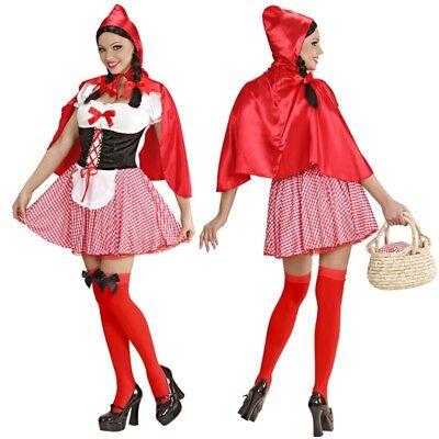 Sexy Rotkäppchen Damen Kostüm Red Riding Hood Märchen Rotkäpchen Wolf S, M L XL