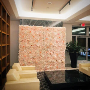 Flower Wall and Arch Backdrop