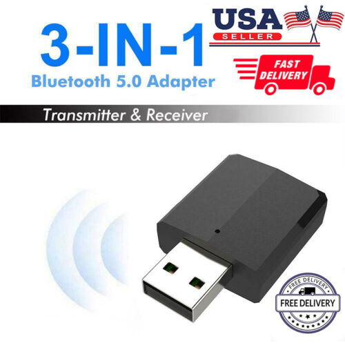 3in1 usb bluetooth dongle 5 0 aux