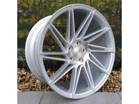 """19"""" Staggered Veemann V-FS26 alloy Wheels and Tyres for an E90 BMW 3 Series"""