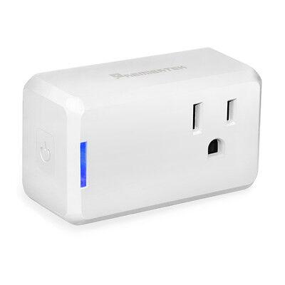 Premiertek Wi-Fi WiFi Mini Smart Plug Control from Anywhere, Work w/Alexa UL FCC