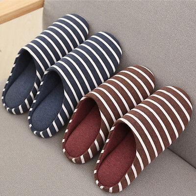 Men Home House Anti-slip Shoes  Women Winter Warm Cotton Sandal Indoor Slippers