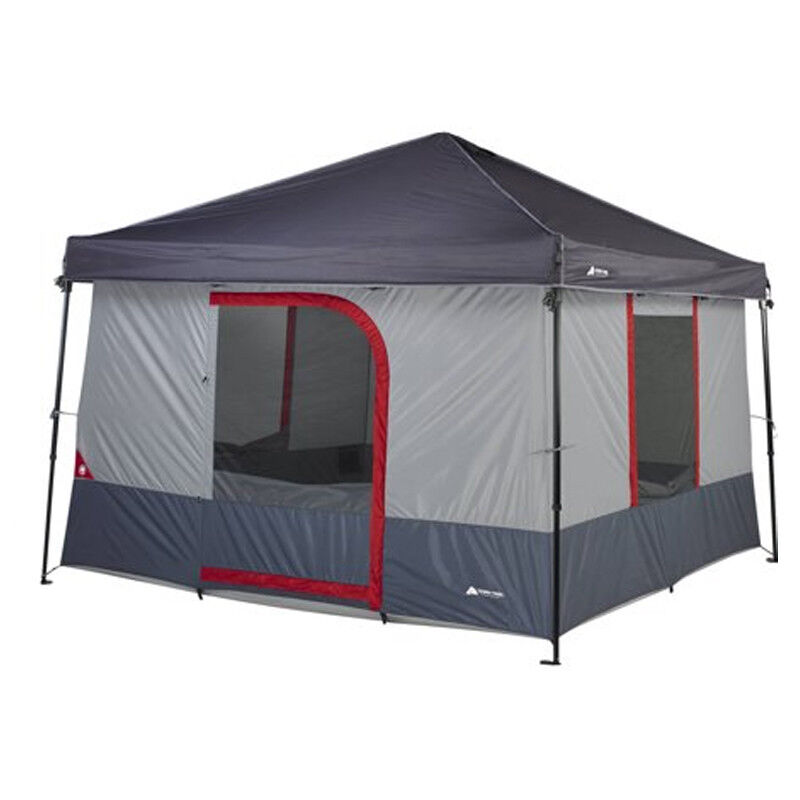 Ozark Trail 6 Person ConnecTent for Canopy 10 x 10 Outdoor Family Camping Tent