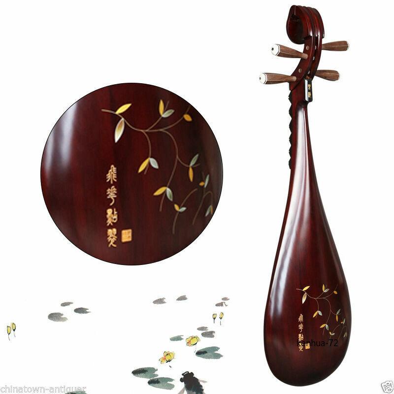 New High-quality YUEHAI Chinese Pipa Lute Guitar Musical Instrument Liuqin