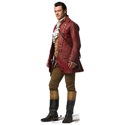 GASTON Beauty and the Beast Lifesize CARDBOARD CUTOUT Standup Standee Luke Evans