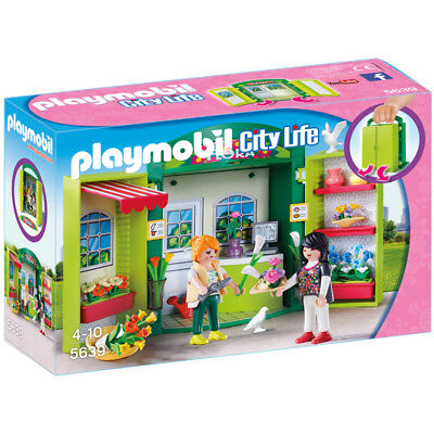Playmobil City Life Flower Shop Play Box 5639 NEW
