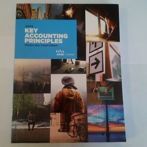 Joffe Key Accounting Principles Vol 1, 4th Ed Text & Workbook Kitchener / Waterloo Kitchener Area image 2