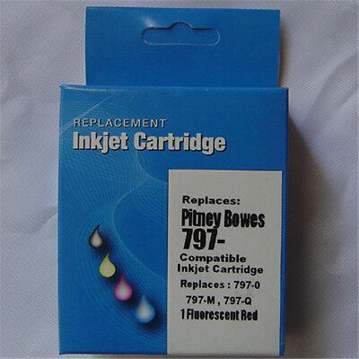 - 797-0 797M Red INK Cartridge for Pitney Bowes K700 K7M0 797 797Q Mailstation 1 2