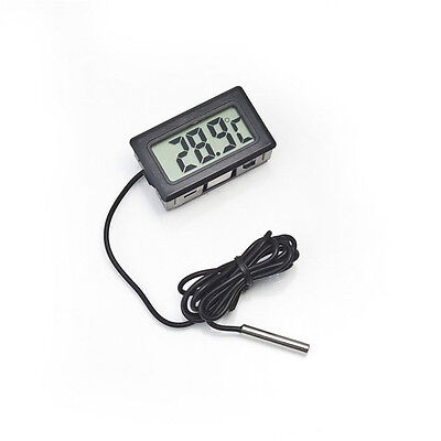 Pc Mini Digital Lcd Refrigerator Fridge Freezer Aquarium Temperature Thermometer