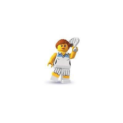Ladies Player Series (NEW LEGO MINIFIGURE SERIES 3 TENNIS PLAYER OPEN BAG 8803 SPORTS RACKET GIRL)