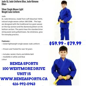 Judo Uniform For Sale Only @ BENZA SPORTS