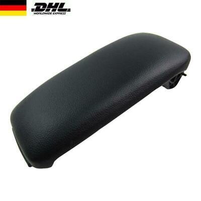 Auto Mittelarmlehne für Audi A3 S3 8P 03-13  Leder Schwarz Armlehne Abdeckung (Konsole Für Auto)