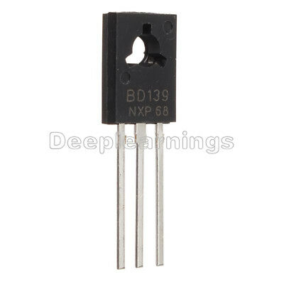 50pcs New Bd139 Transistor Npn 1.5a 80v To126