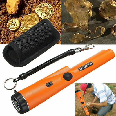 Waterproof Metal Detector Treasure Automatic Pro Pointer Pinpointer W/ Holster