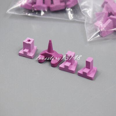 1 Set Dental Oven Tray Holding Furnace Ceramic Firing Porcelain Pegs Kits 4 Pcs
