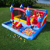 Kids Kingdom Combo Bouncy Castle Rental (Kijiji Discount)