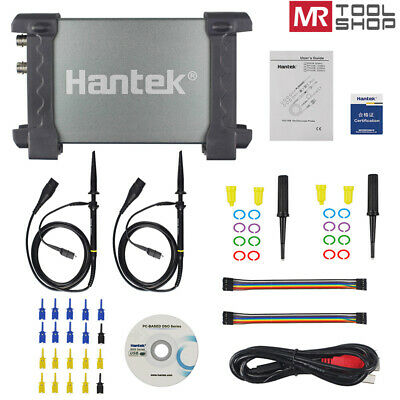 Hantek 6022bl Usb Pc Portable Oscilloscope Digital Logic Analyzer 16ch 48msas